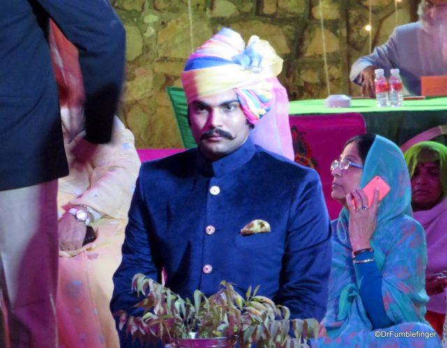 Groom at the Wedding celebration, Jaipur