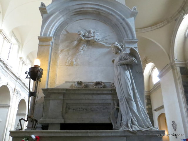 Bellini's Tomb, Catania Cathedral