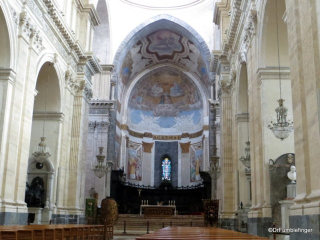 Altar, Catania Cathedral