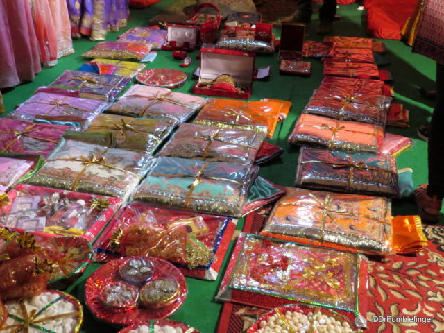 Gifts at the Wedding in Jaipur