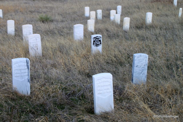 Soldier's graves, Little Bighorn Battlefield National Monument
