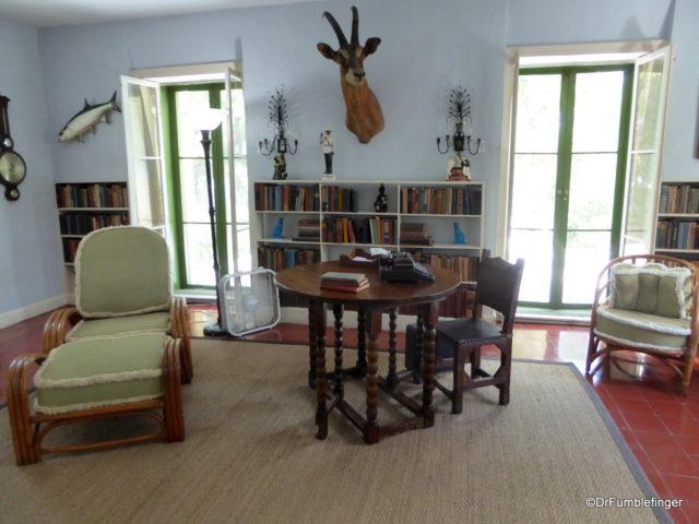 Hemingway's office, Key West
