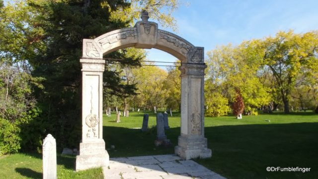 Memorial arch, St Andrew's Anglican Church