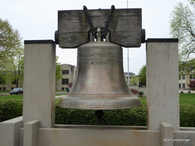 Copy of the Liberty Bell, College of the Ozarks, Branson
