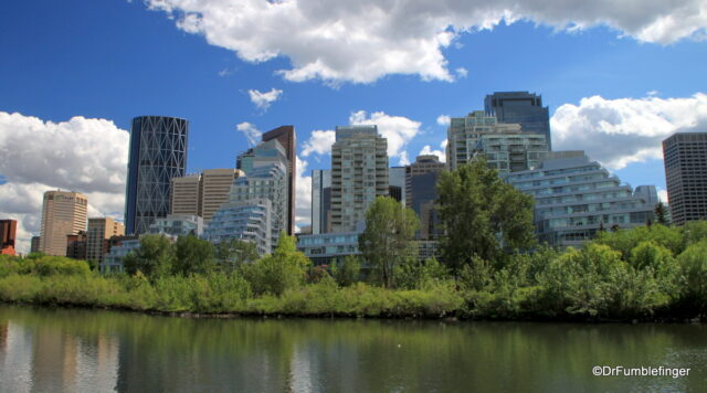 View of Downtown Calgary from rince's Island Park, Calgary