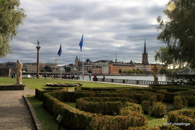 Stadshusparken, Stockholm City Hall