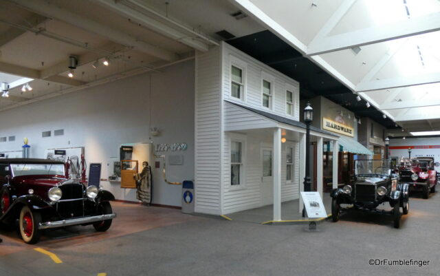 1900s street front, National Automobile Museum
