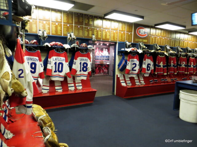 Montreal Canadien Dressing Room, Hockey Hall of Fame