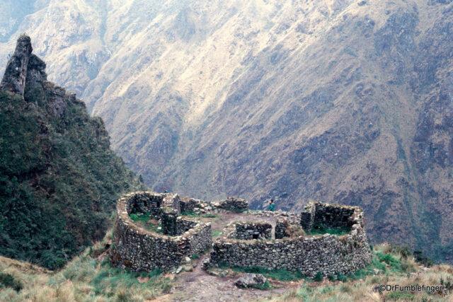 Runkuraqay, Inca Trail