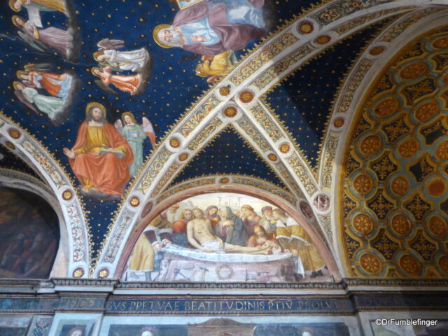 Hall of Nuns, San Maurizio al Monastero Maggiore, Milan