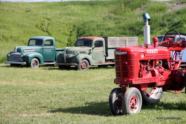 Old ranch equipment, Bar U Ranch